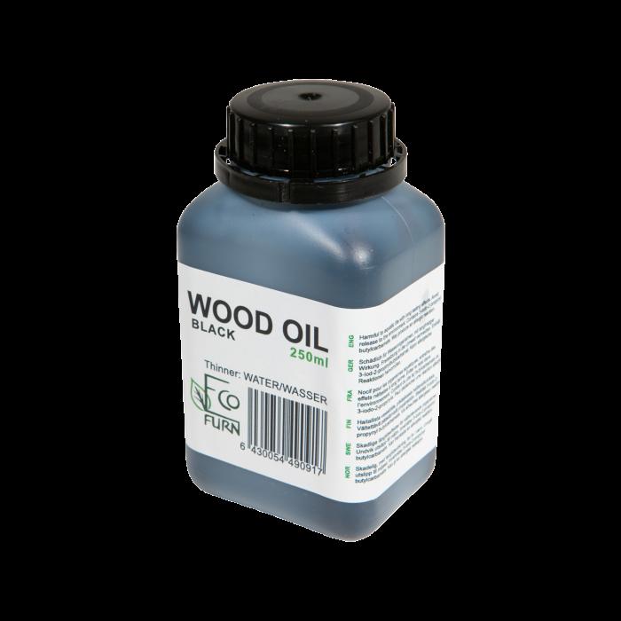 Olej na drevo čierny