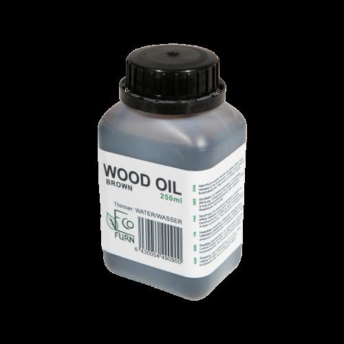 Olej na drevo hnedý