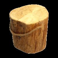 Pölkky drevený stolček